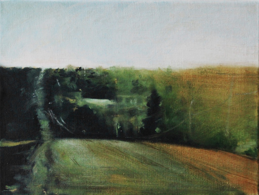 contemporary landscape voor tekst